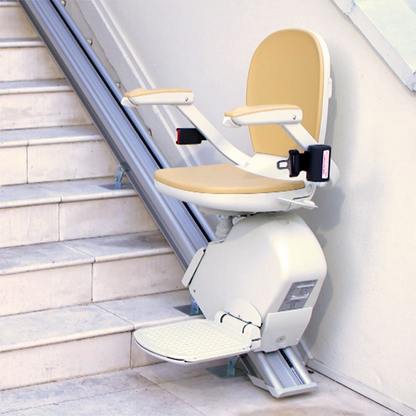 Outside Stair Lifts bay area chair curved