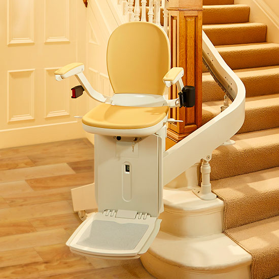 Elite Outdoor Curved  Call Alameda Stair Lifts